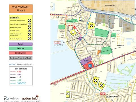 Stanwell Accessibilty Map