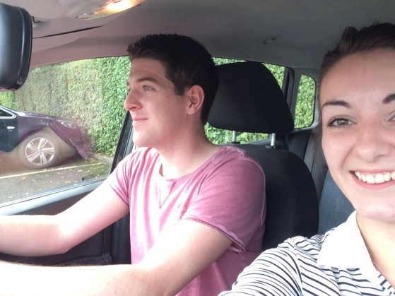 Harry and Beth Car Share 2
