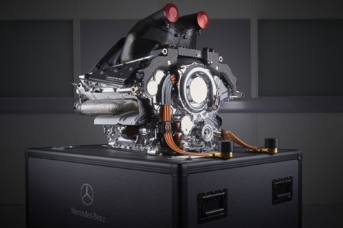 Mercedes F1 Hybrid Engine 2015