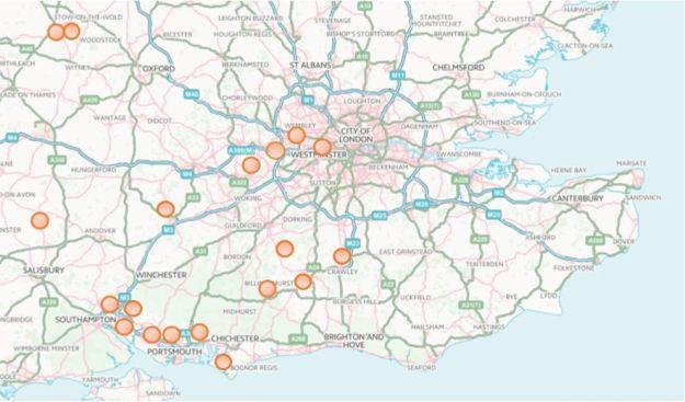 TPC Site Map