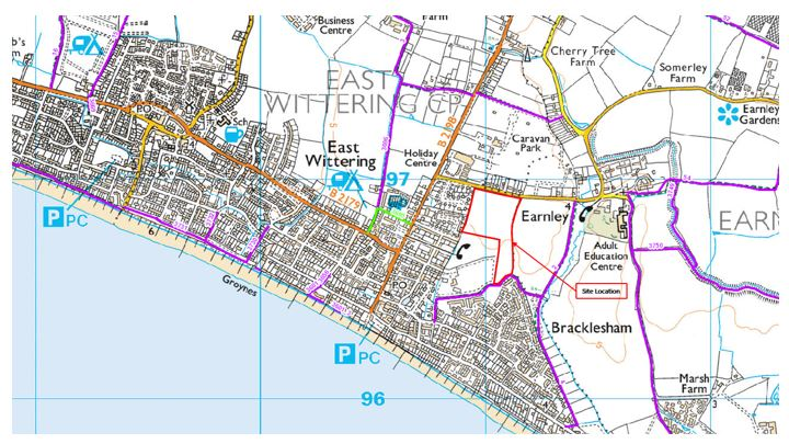 bracklesham walking routes